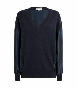 Amanda Wakeley Cashmere Contrast Sweater
