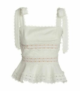Zimmermann Kirra Shoulder-Tie Top
