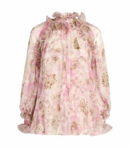 Zimmermann Super Eight Ruffled Blouse