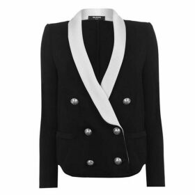Balmain Six Button Knit Blazer
