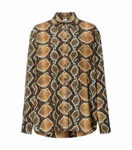 Burberry Python Shirt
