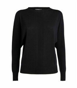 Peserico Wool Ribbed Sweater