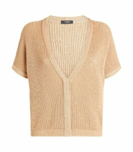 Peserico Knitted Sequin Cardigan