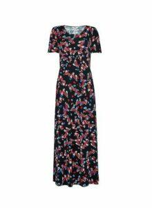Womens Dp Tall Multi Colour Floral Print Maxi Dress - Fl Multi, Fl Multi