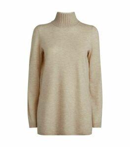 Vince Split-Hem Cashmere Sweater