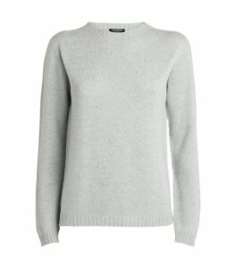 Harrods of London Embellished Cashmere Sweater