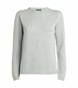 Harrods of London Embellished Cashmere Sweater