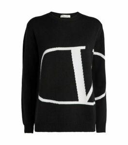 Valentino VLOGO Cashmere Sweater