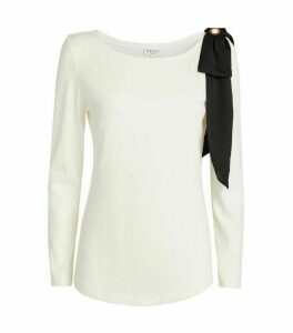 Claudie Pierlot Bow Embellished T-Shirt