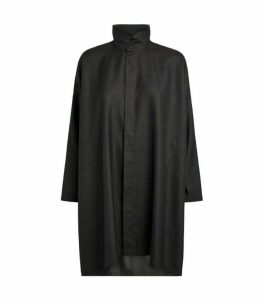 Eskandar Stand-Collar Shirt