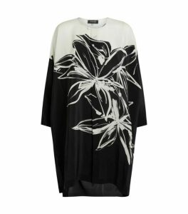 Eskandar Silk Floral Blouse