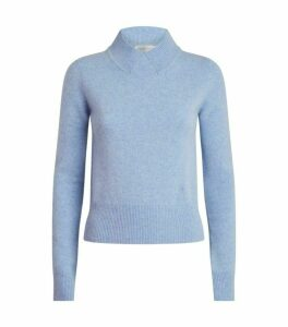 Victoria Beckham Cropped Wool Sweater