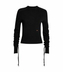 Victoria Beckham Cropped Cashmere Sweater