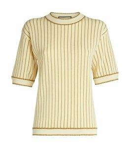 Gucci Lurex Stripe Knit Top