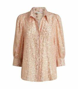 Stella McCartney Leopard Print Reese Shirt