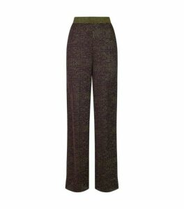 Missoni Wide-Leg Glitter Trousers