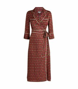 Claudie Pierlot Wrap Midi Dress