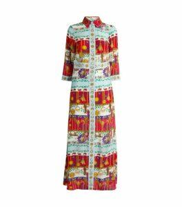 Hayley Menzies Enchanted Leopard Shirt Dress