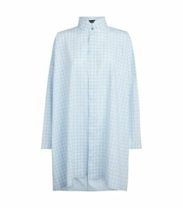 Eskandar A-Line Pleat Shirt