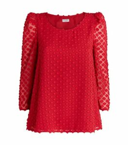 Claudie Pierlot Textured Blouse