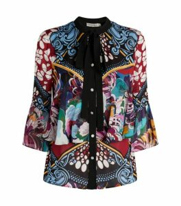 Mary Katrantzou Baroque-Print Milana Blouse