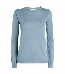 Max Mara Caraibi Cashmere-Silk Sweater