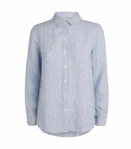 Barbour Linen Pinstripe Shirt