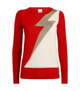 Madeleine Thompson Lightning Bolt Sweater
