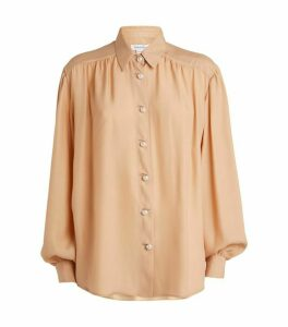 Ryan Roche Silk Blouse