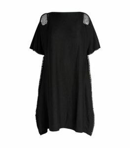 Issey Miyake Fringe-Trim Jersey Tunic