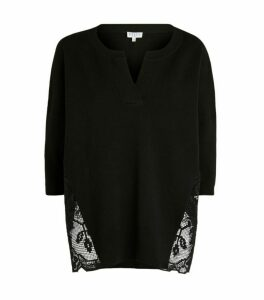Claudie Pierlot Lace-Trim Top