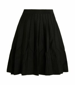 Claudie Pierlot Pleated Knit Skirt