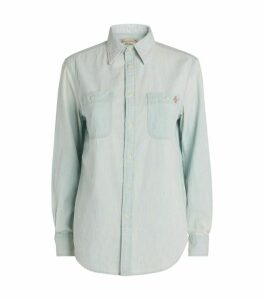 Ralph Lauren Cotton Polo Bear Shirt