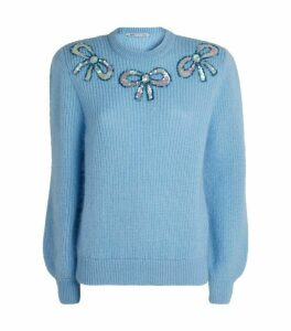 Alessandra Rich Embellished Sweater