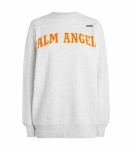 Palm Angels College Logo Sweatshirt