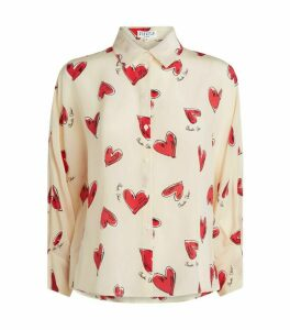 Claudie Pierlot Love Heart Shirt