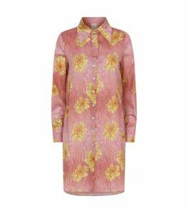 La Costa del Algodón Cotton Edith Germaine Longline Shirt