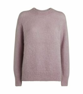 Vince Mohair-Blend Brushed Sweater