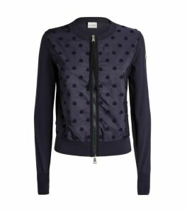 Moncler Zip-Up Cardigan