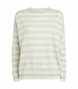 Brunello Cucinelli Striped Cashmere Sweater