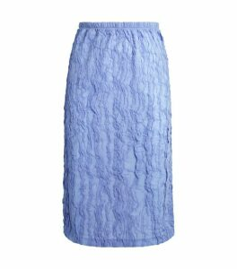 Kenzo Ruched Pencil Skirt