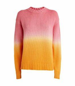 Alanui Wave Life Wool-Cashmere Sweater