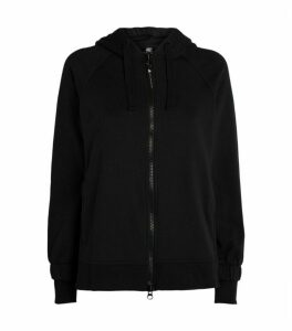Stella McCartney Essentials Logo Zip-Up Hoodie