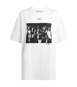 Off-White Spray Painting T-Shirt