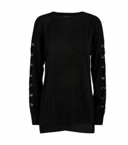 AllSaints Cross Sweater