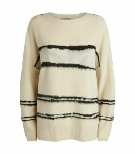 AllSaints Tara Stripe Sweater