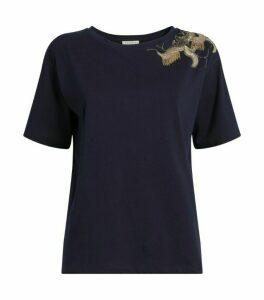 Sandro Paris Jewelled T-Shirt