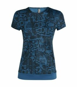 Stella McCartney Snake Print Training T-Shirt