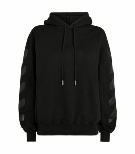 Off-White Cotton Logo Hoodie