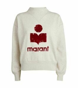 Isabel Marant Étoile Moby Logo Sweatshirt
